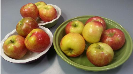 Apples-in-pie-pans