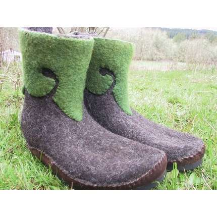 Felted boots2