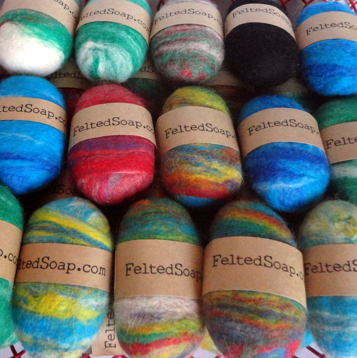 Felted-Soap-Labels