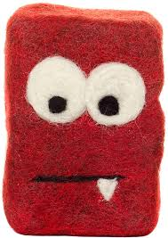 red monstor soap