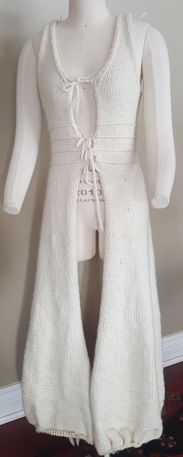 Ella Coat Bulky White