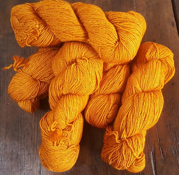 Pumpkin Yarn